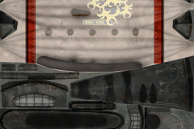 Textures for Computer Games – 3D Portfolio