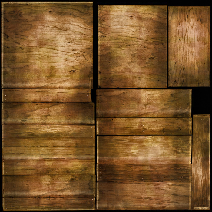 Wood Texture for 3D Models - 3D Portfolio