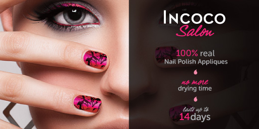 Banner Nail Stickers - Graphic Design Portfolio