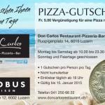 Flyer for Restaurant - Graphic Design Portfolio