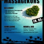 Poster for Massageclass - Graphic Design Portfolio
