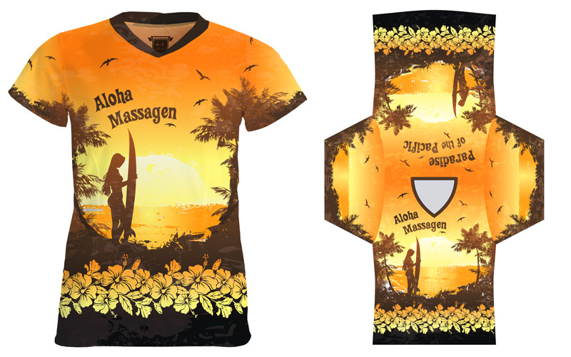 T-Shirt for Massage Studio - Graphic Design Portfolio