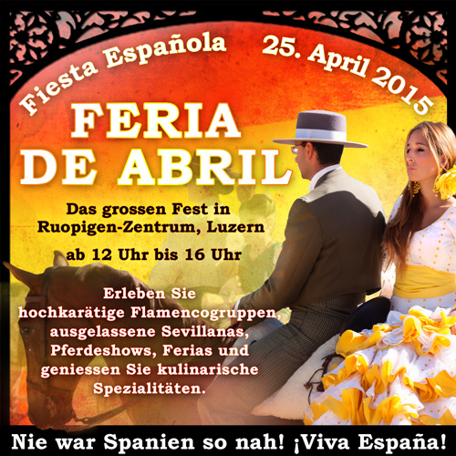 Banner Feria De Abril - Graphic Design Portfolio