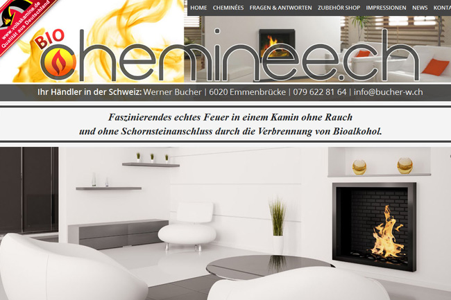 New Website for Bio Chimnies – Webdesign Portfolio