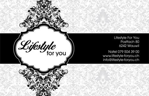 Business Card Lifestyle – Graphic Design Portfolio