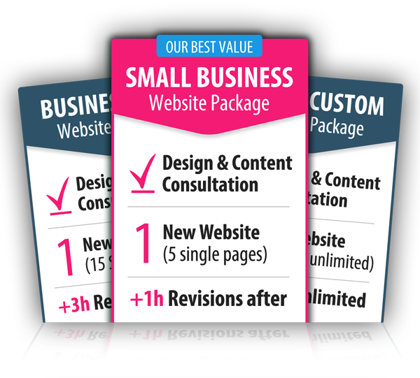 Web Packages Available