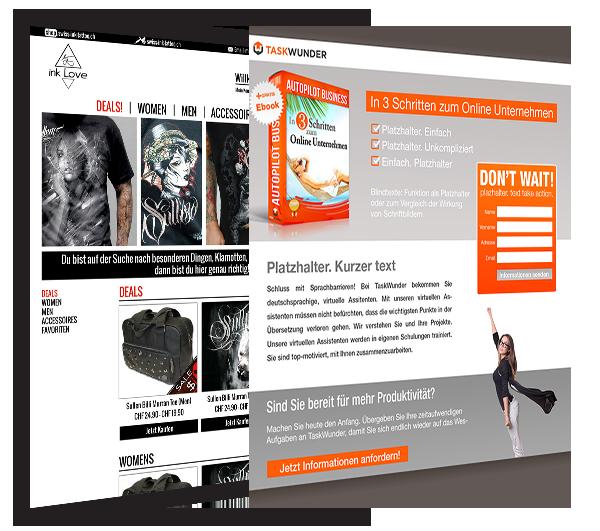 Website Mock-Ups