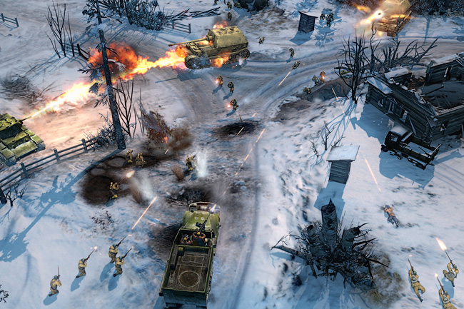 "Marketing Screenshots ""Company of Heroes II"" – 3D Portfolio"