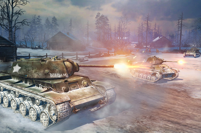"Marketing Bilder ""Company of Heroes II"" (3D Portfolio)"