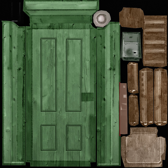Wood Texture for 3D Models - 3D Portfolio