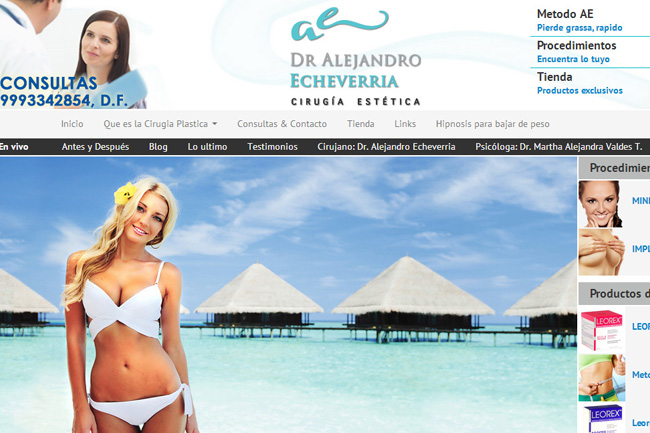New Website for Plastic Surgery – Webdesign Portfolio
