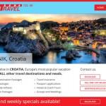 New Website for a Travel Agency - Webdesign Portfolio