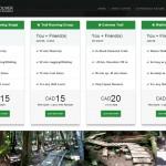 New Website for Running - Webdesign Portfolio