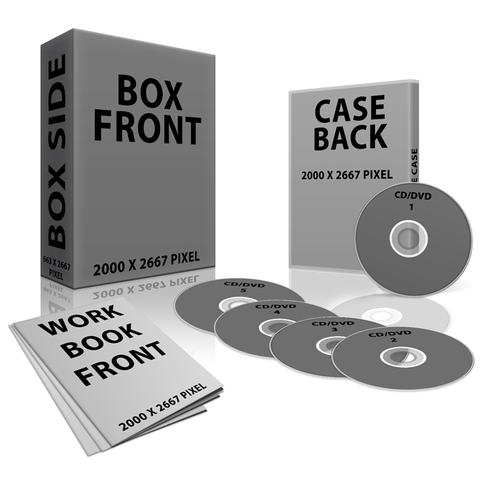 3D Product Box Plain