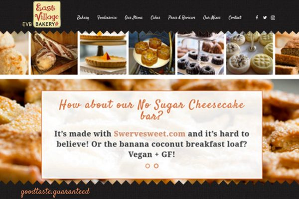 New Website for Bakery – Webdesign Portfolio